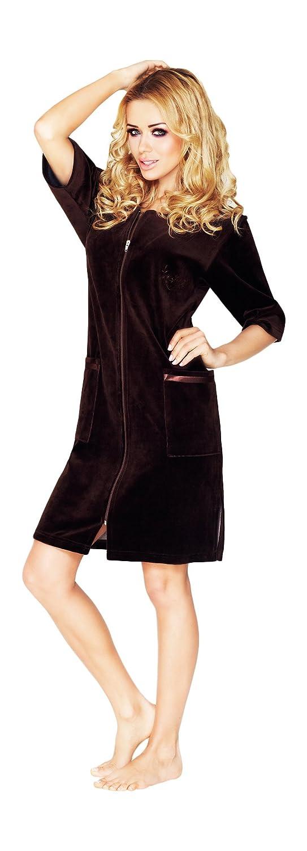Wanmar Company Womens Luxury Soft Cotton Bath Robe Housecoat