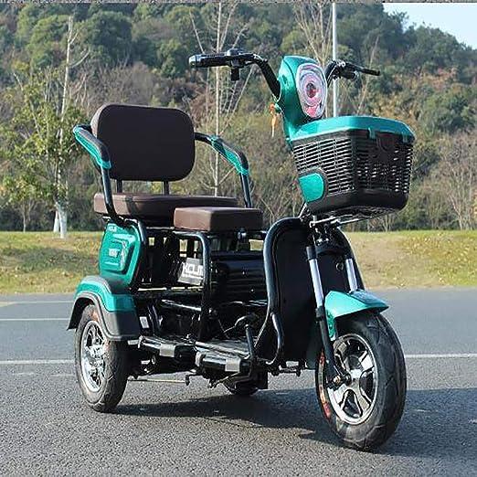 MMRLY Scooter eléctrico Triciclo, 3 Rueda de Bicicleta, al Aire ...