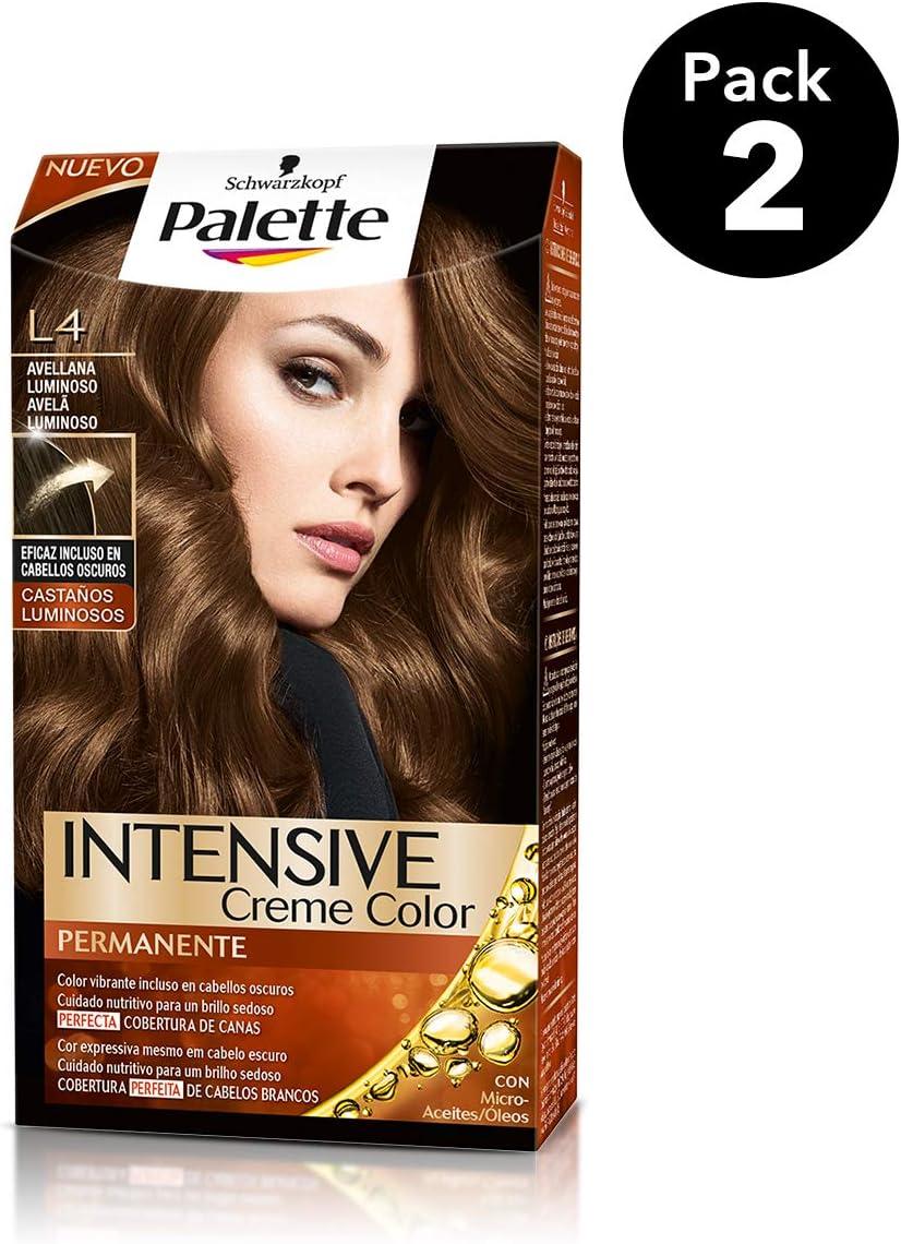 Palette Intense - Tono L4 Avellana Luminoso - 2 uds ...