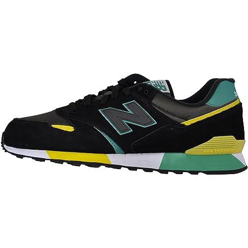 New Balance Zapatillas Para Hombre, Color Negro, Talla 37.5: Amazon.es: Zapatos y complementos