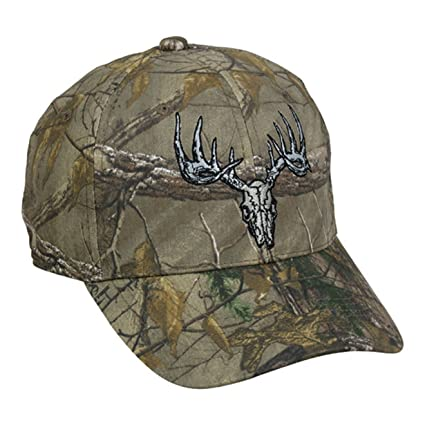 434fc6be234 Image Unavailable. Image not available for. Color  Realtree Outdoor Cap  Xtra Deer Skull Hunting Hat