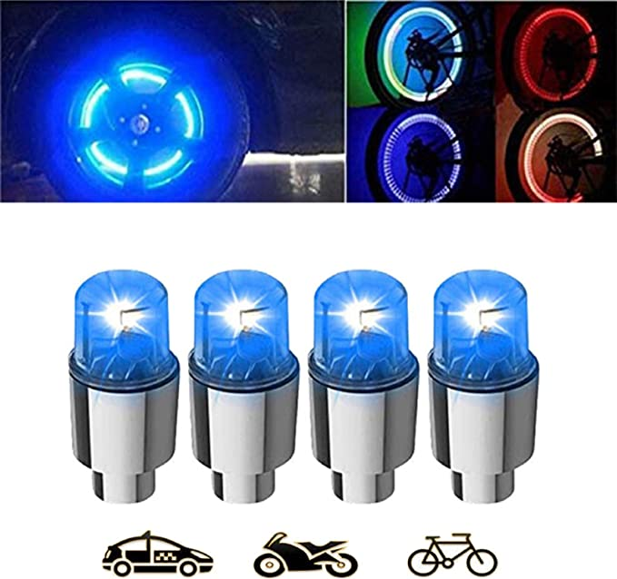 1-16Pcs Valve Stem LED CAP for Bike Bicycle Car Motorcycle Wheel Tire Light lamp