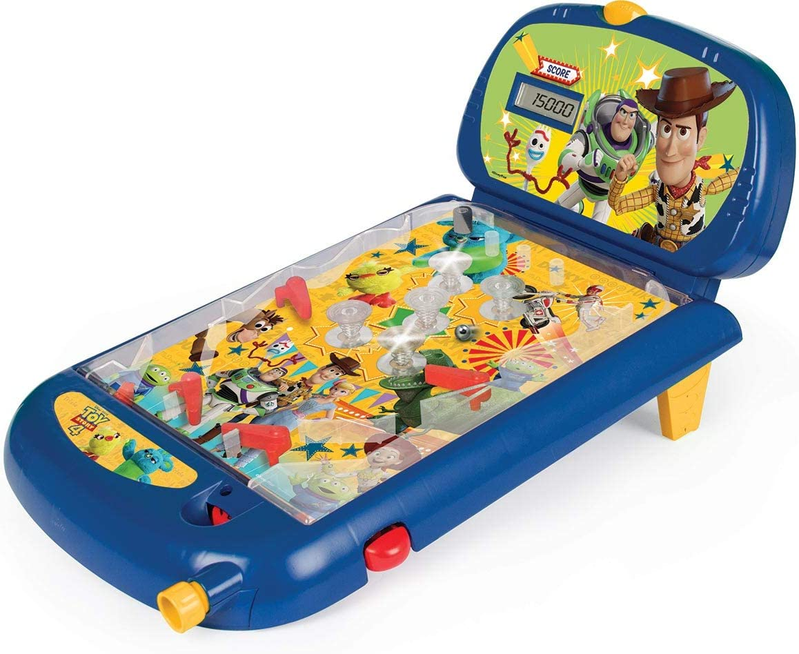 Toy Story- Super Pinball, Multicolor (IMC Toys 141032)