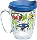 Tervis 1259435 Retro Camping Insulated Tumbler with