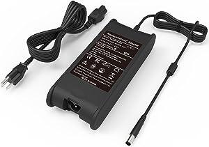 19.5V 4.62A 90W Laptop Charger for Dell HA65NM130 06TM1C HA65NS5-00 FA90PE1-00 PA-3E 0J62H3 DA90PE1-00 9T215,Latitude E6520 E6410 E6530 E7450 E5540 E6500 D610 D630 D830 E5440,Inspiron N5110 N4010
