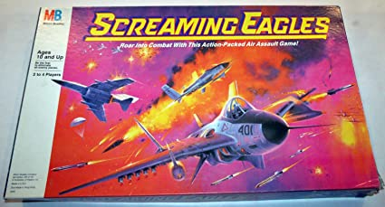 Amazon.com: Vintage Screaming Eagles Board Game - 1987 Edition: Toys ...