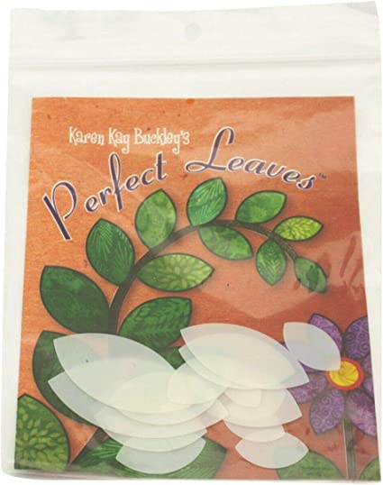 Heat Resistant Plastic Templates in 15 Sizes Karen Kay Buckley Perfect Leaves