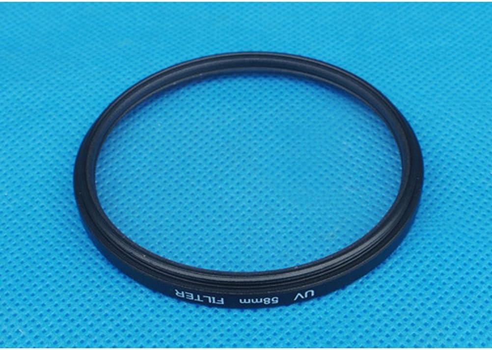Professional Optical UV Filter Camera Lenses Protector Black Frame 58MM Black