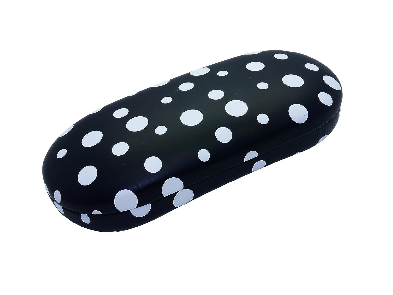 Polka Dot Glasses Case Secure Spectacle Case Hard Protective