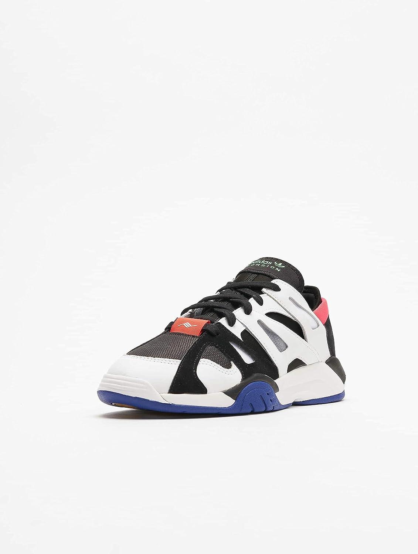 Adidas Dimension Low Core Black White Active Blue Noir