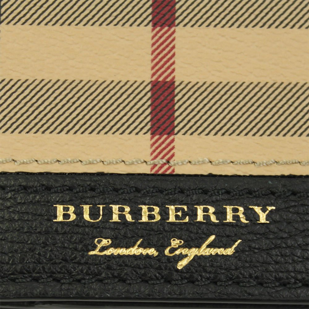 Burberry monedero cartera bifold de hombre en piel nuevo ...
