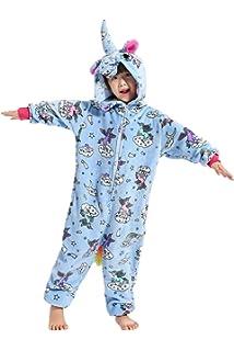 Niños Unisex Unicornio Animales Loungewear Pijamas Ropa de Fiesta Ropa de Dormir  Disfraces Cosplay 0a1e97eaba08