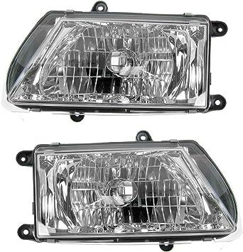 Fog Driving Light Lamp Left /& Right Pair Set of 2 For 02-05 Kia Sedona