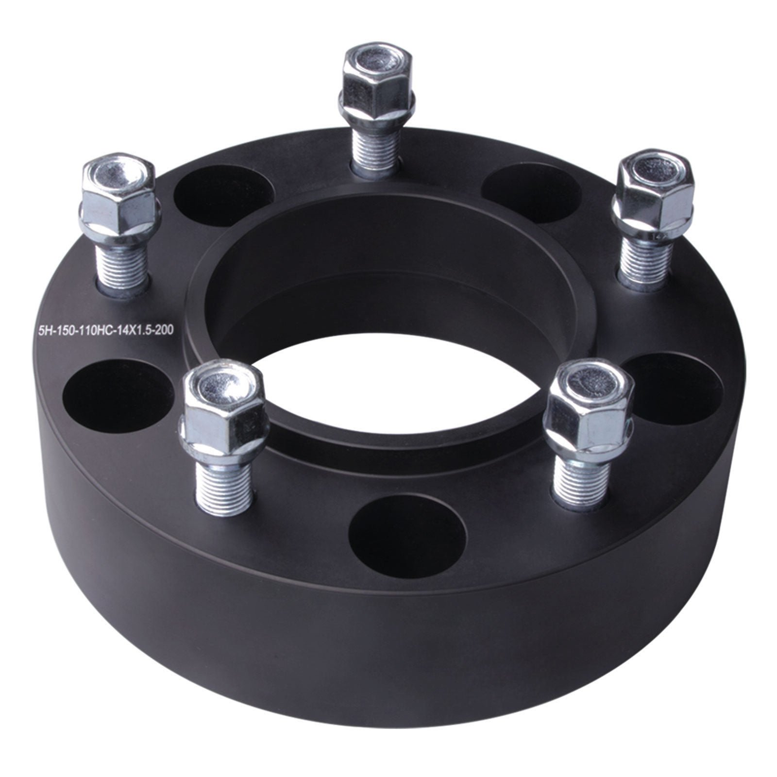DCUAUTO 4pc 2007-2017 Toyota Tundra 5x150 Hubcentric Wheel Spacers Adapters 2 Inch with 14x1.5 Studs by DCUAUTO (Image #6)