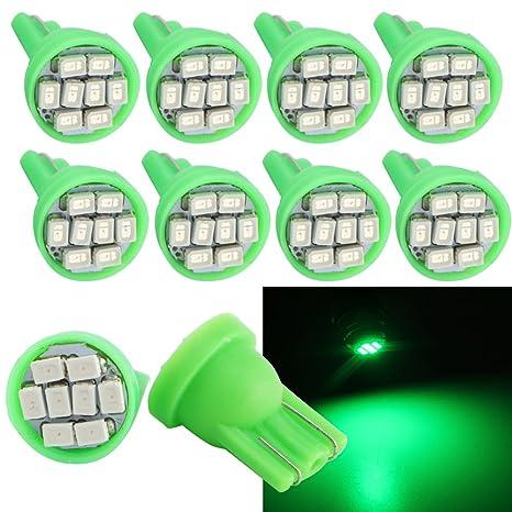 Amazon.com: Grandview - Bombillas LED T10 para coche W5W 194 ...