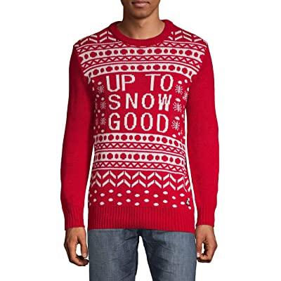 American Stitch Men's Up to Snow Good Festive Holiday Sweater at Men's Clothing store