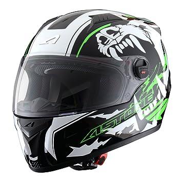 Astone Helmets, Casco integral, color Verde, talla XS