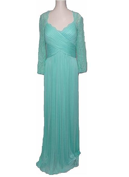Nina Austin 6290 Lace & Chiffon Long Formal