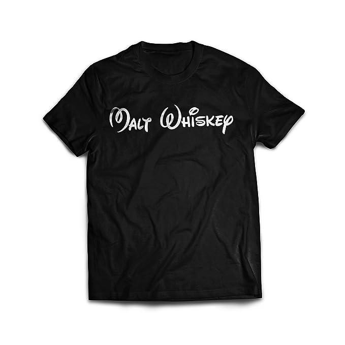 Malt Whiskey Alcohol Relacionados Gracioso Camisetas: Amazon.es: Ropa y accesorios