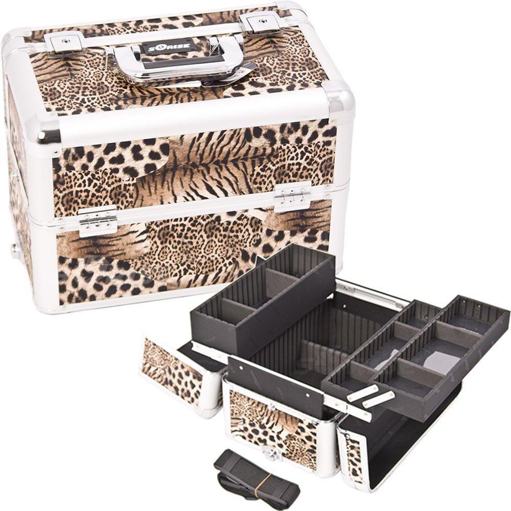 【楽ギフ_のし宛書】 Sunrise E3302LPBR Leopard Brown E3302LPBR Pro Makeup Brown Case Pro B009G8TQMK, シカマチチョウ:e20cfc3b --- arianechie.dominiotemporario.com