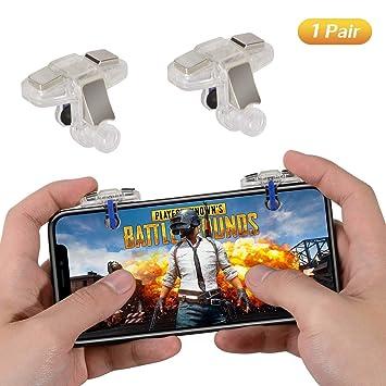PUBG Mobile Game Controller 2 Triggers, COCASES Sensitive