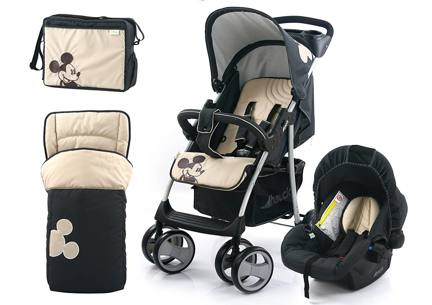 Disney Shopper Pushchair Buggy Pram Shop n Drive Travel System