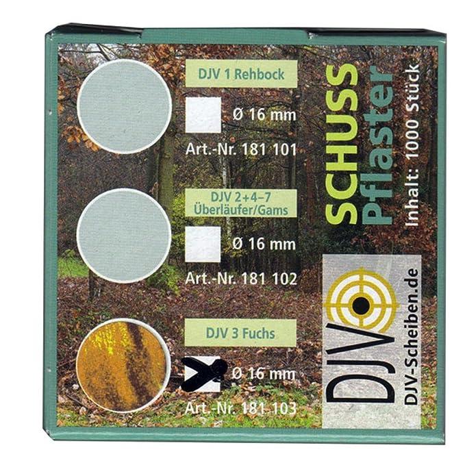 AVERY Zweckform Schußpflaster schwarz Durchmesser 19 mm 1.000 Stück