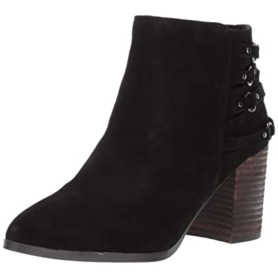 Fergie Womens Boston Faux Suede Strappy Ankle Boots | Ankle & Bootie
