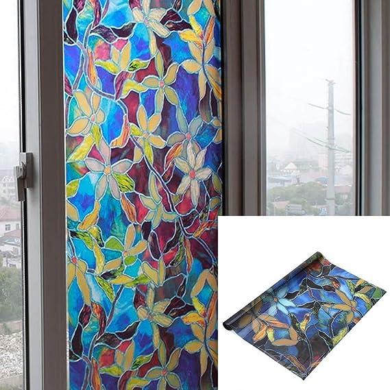 Pegatinas de esmerilado autoadhesivas para ventanas - Decoración ...