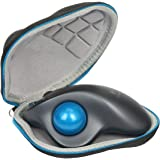 Baval Hard Case Portable Bag for Logitech M570 Trackball Computer Long Range Wireless Mouse