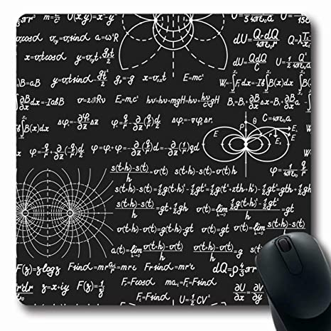 Amazon.com: Tobesonne Mousepads Laboratory Black Physical ...