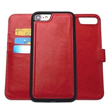 coque iphone 7 clapet rouge