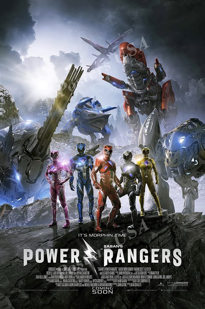 PremiumPrints - Power Rangers 2017 Movie Poster Glossy Finish Made in USA - MOV691 (24