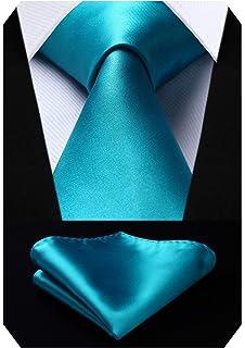 Hi-Tie - Corbata - para hombre Marrón 3014-n Talla única: Amazon ...