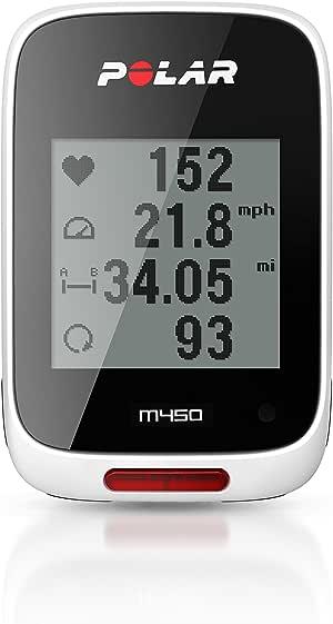 Polar M450 GPS cuentakilómetros sin Ritmo cardiaco: Amazon.es ...