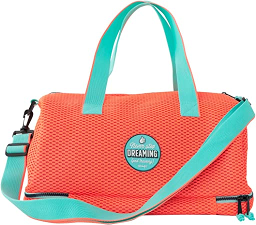Mr. Wonderful Bolsa de Deporte-Never Stop Dreaming and Training, Multicolor, Única: Amazon.es: Hogar