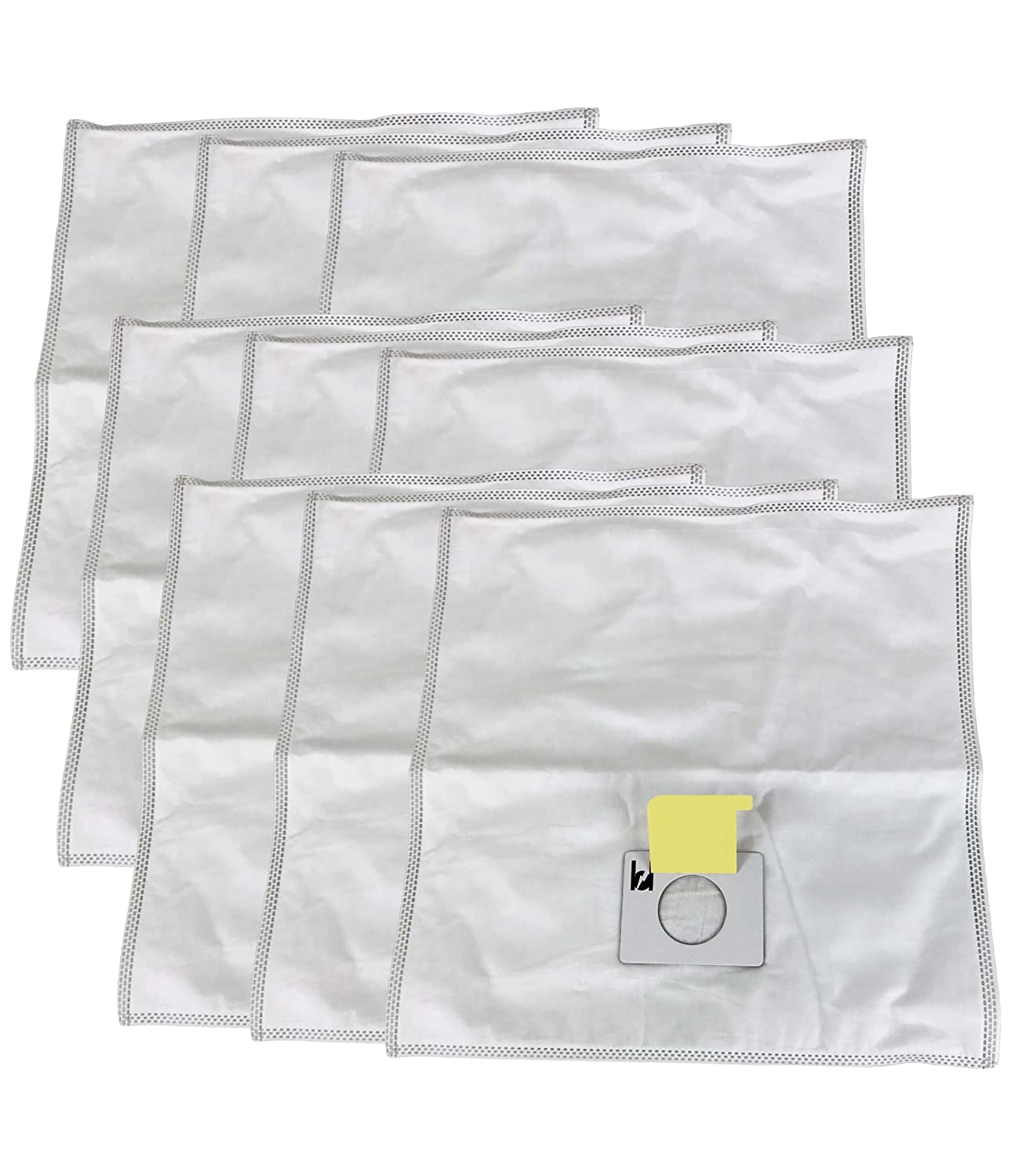 9 Kenmore Type C 5055 Cloth Allergen Bags Designed To Fit Kenmore Canister Type C, 5055, 50557, 50558 Kenmore Type Q, Panasonic Type C-5 & C-19 (MC-V295H), Compare to Part # 433934, Designed & Engineered By Crucial Vacuum