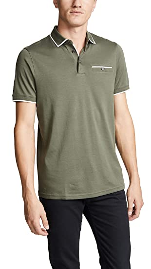 d10fe028c Ted Baker Polo Shirt Jelly Mens Khaki Designer TOP  Amazon.co.uk  Clothing