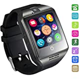 Bluetooth Smartwatch Impermeabile, AxCella 2018 Nuovo Smartwatch Supporto SIM / TF Card Orologio Intelligente con Pedometro Sleeping Monitor Facebook Whatsapp Smartwatch per Android Smartphones