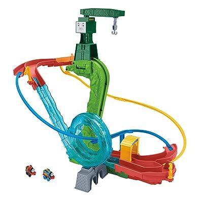 Fisher-Price Thomas & Friends MINIS, Motorized Raceway: Toys & Games