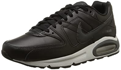 size 40 a533a 8e249 Nike Air Max Command Leather, Chaussures de Sport Homme, Multicolore  (Black Anthracite