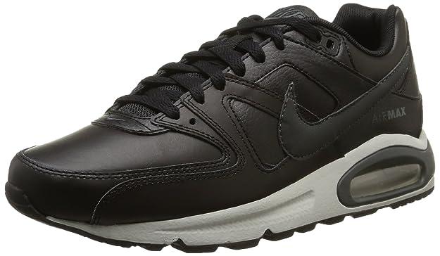 Nike Air Max Command Leather, Chaussures de Gymnastique Homme, Noir (Black/Anthracite/Neutral Grey 001), 44 EU