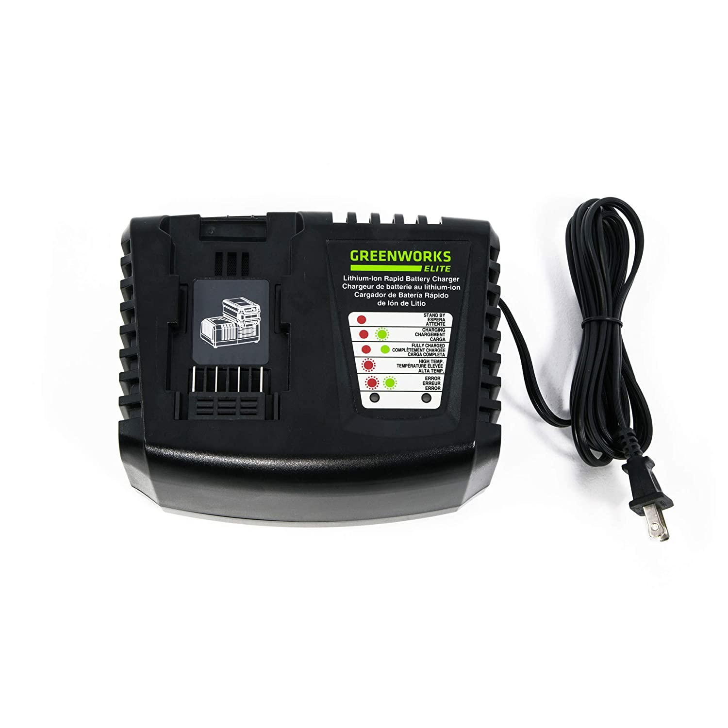 Greenworks 40V Rapid Charger, C-400