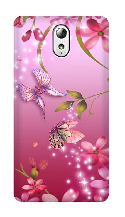 new product 62666 5a036 SWAG my CASE Printed Back Cover for Lenovo Vibe P1M Multicolor