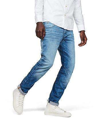 G-star Arc 3d Slim Fit Itano Stretch Denim light aged JEANS PANTALONI PANTS UOMO