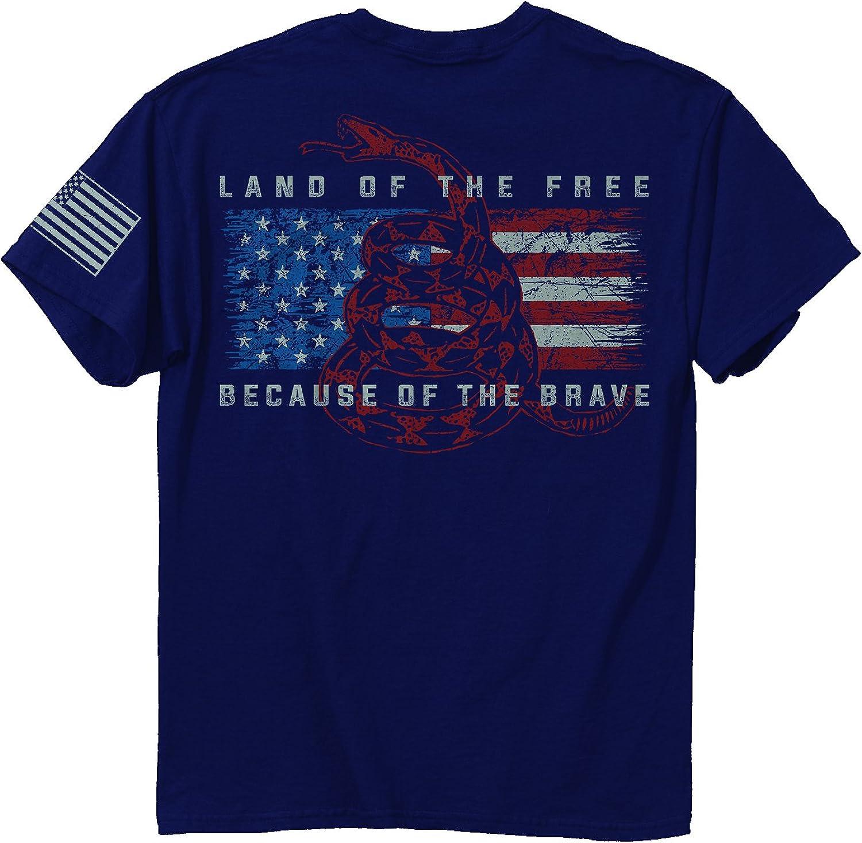 Buck Wear Land of The Free T-Shirt