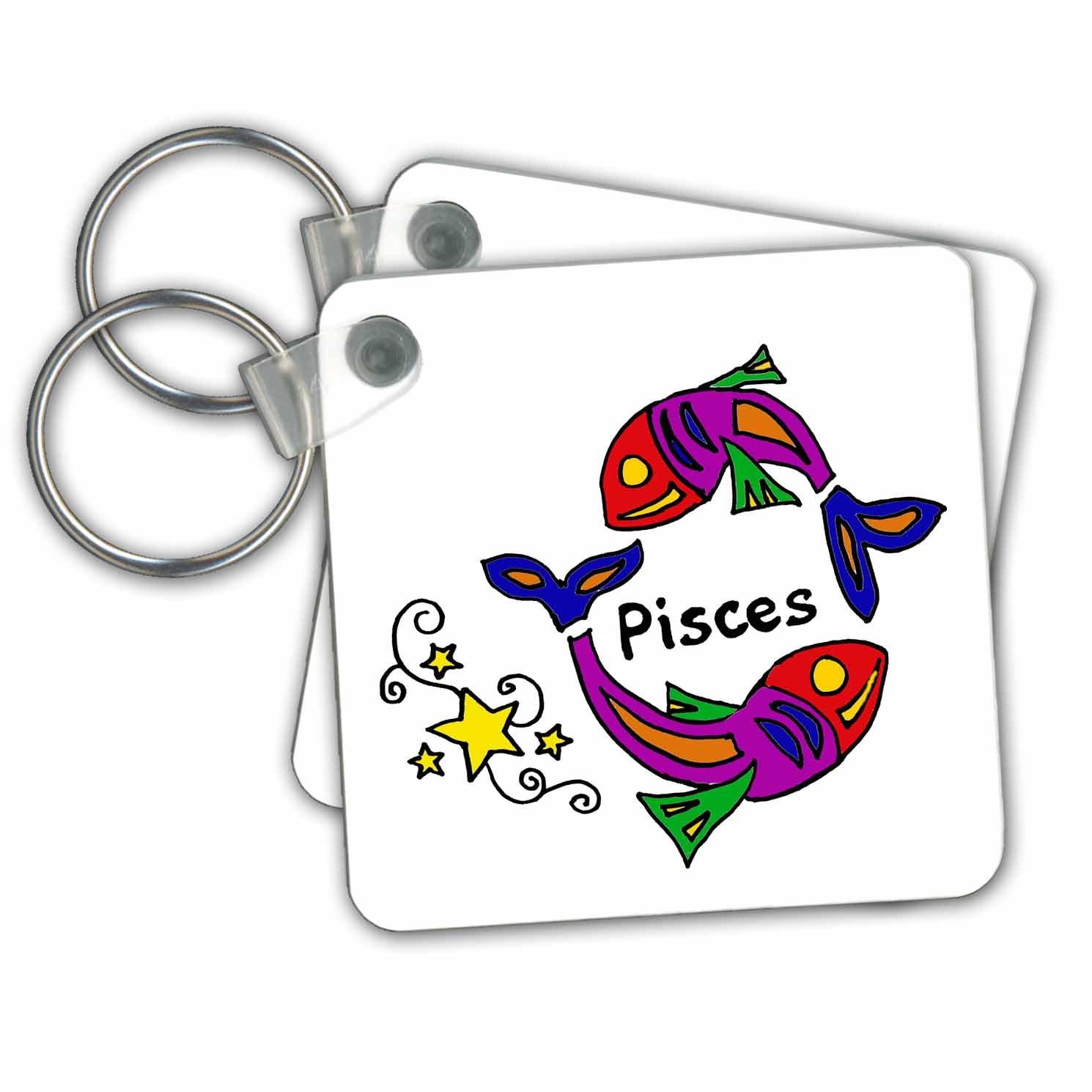Amazon.com: 3dRose Fun Zodiaco Piscis Astrología – Señal de ...