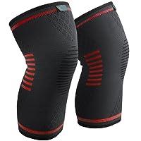 Sable Knieschoner Knieschützer 1 Paar schnellere Genesung, mehr Stabilität und Unterstützung beim Laufen und Joggen