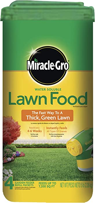 Top 9 Miracle Gro Lawn Food
