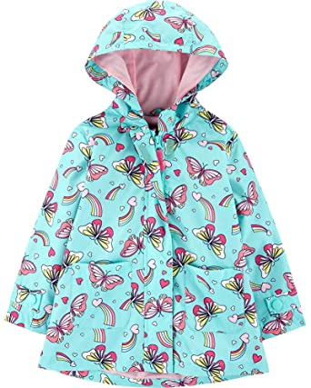 d3f5f79ed8bd Amazon.com  Carter s Girls  Her Favorite Rainslicker Rain Jacket ...